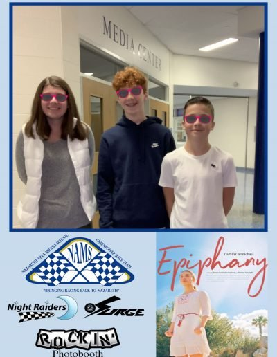 Nazareth Middle School Rockin Photobooth